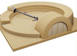 Jak zbudowac piec do pizzy opalany drewnem