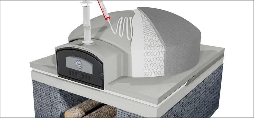 Izolacja pieca chlebowego