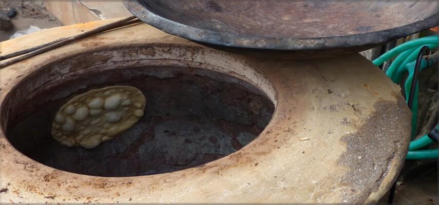 Konstrukcja pieca Tandoor
