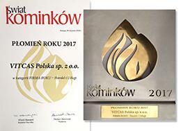 Płomień Roku 2017 - FIRMA ROKU